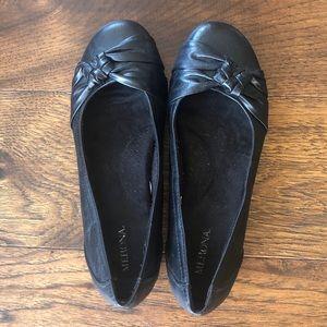 MERONA BLACK SLIP ON / FLATS